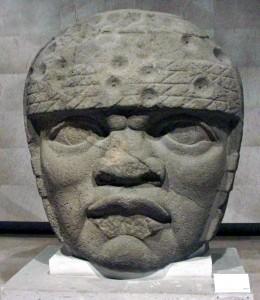 Olmec-head