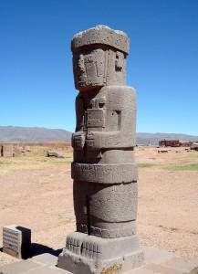 Tiwanaku-statue