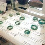 Faience-rings