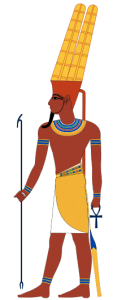 god-amun-drawn