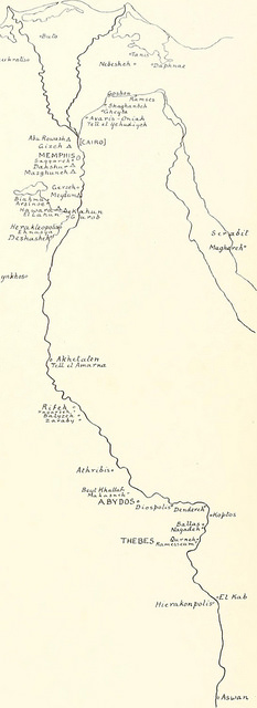 map-drawing-Ancient-Egypt