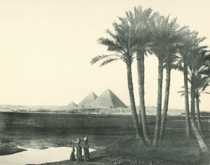 old Egypt pyramid photo